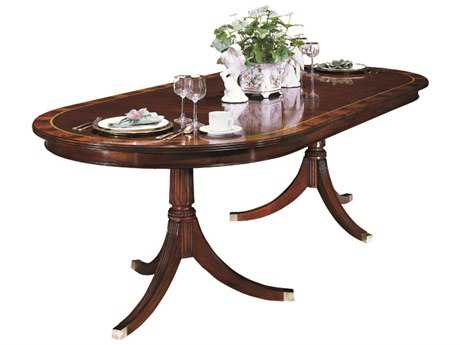 Henkel Harris 76 x 46 Oval Dining Table HH2235