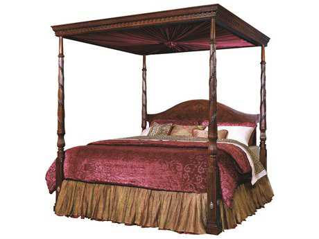 Henkel Harris King Size Low Posted Bed