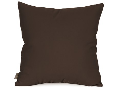 Howard Elliot Outdoor Patio Seascape Chocolate Pillow