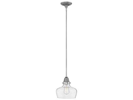 Hinkley Lighting Academy English Nickel 10'' Wide Mini-Pendant Light HY67072EN