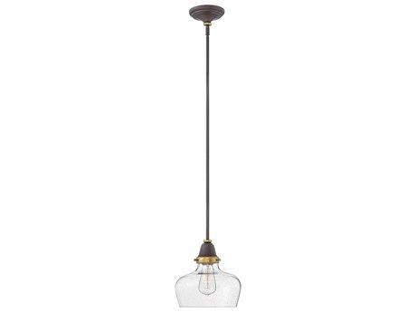 Hinkley Lighting Academy Oil Rubbed Bronze 10'' Wide Mini-Pendant Light HY67072OZ
