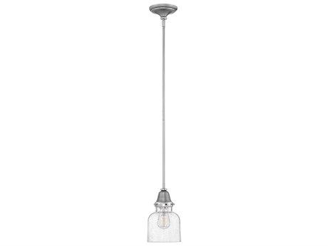 Hinkley Lighting Academy English Nickel 7'' Wide Mini-Pendant Light HY67073EN