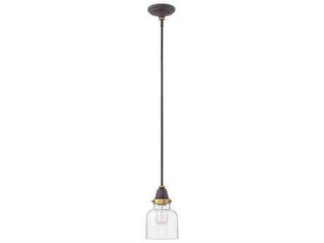 Hinkley Lighting Academy Oil Rubbed Bronze 7'' Wide Mini-Pendant Light HY67073OZ
