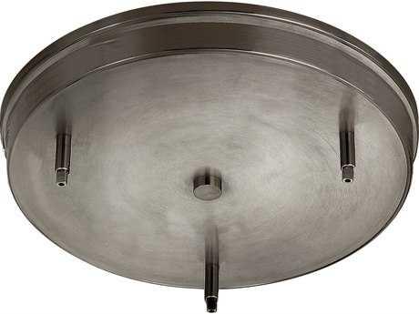 Hinkley Lighting Antique Nickel Round Three-Light Ceiling Pendant Adapter HY83667AN