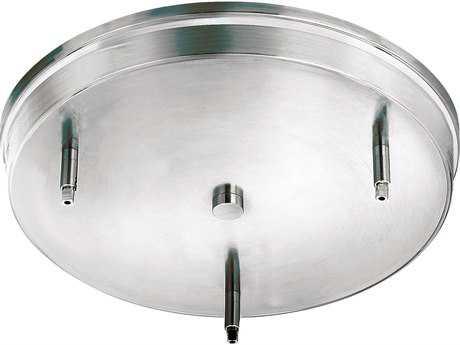 Hinkley Lighting Steel Round Three-Light Ceiling Pendant Adapter HY83667CM