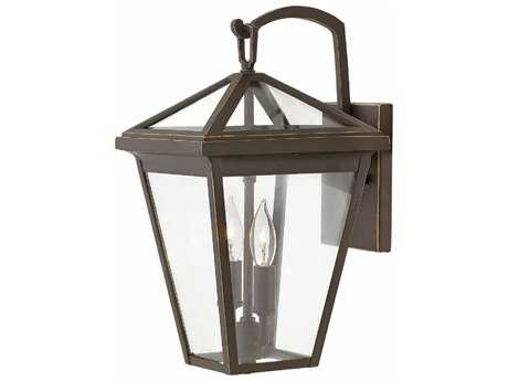 Hinkley Lighting Alford Place Oil Rubbed Bronze with Clear Glass Two-light Outdoor Wall Light HY2560OZ