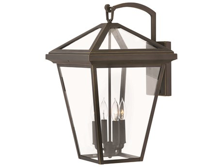 Hinkley Lighting Alford Place Oil Rubbed Bronze Four-Light 14'' Wide Outdoor Wall Light HY2568OZ