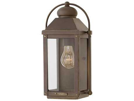 Hinkley Lighting Anchorage Light Oiled Bronze Outdoor Wall Light HY1850LZ