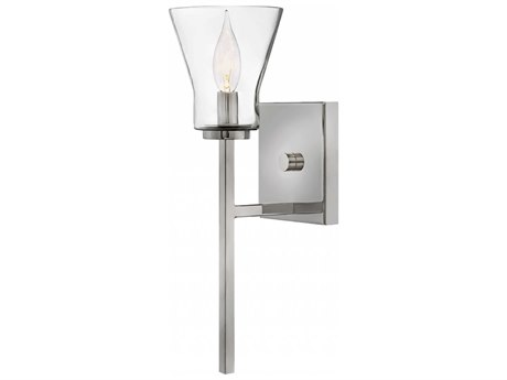 Hinkley Lighting Arden Polished Antique Nickel 5'' Wide Wall Sconce HY3450PL