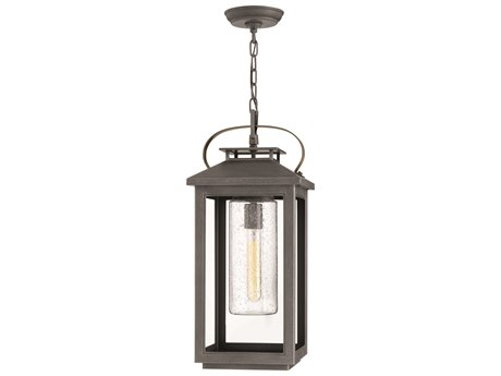 Hinkley Lighting Atwater Ash Bronze 10'' Wide Outdoor Hanging Lighting HY1162AH