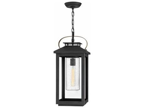 Hinkley Lighting Atwater Black 10'' Wide Outdoor Hanging Light HY1162BK