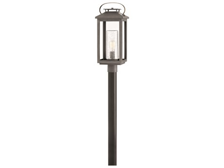 Hinkley Lighting Atwater Ash Bronze 10'' Wide Outdoor Post / Pier Light HY1161AH