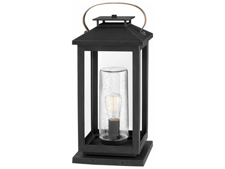 Hinkley Lighting Atwater Black 10'' Wide Outdoor Pier Mount Light HY1167BK