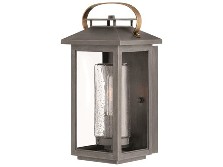 Hinkley Lighting Atwater Ash Bronze 7'' Wide Outdoor Wall Light HY1160AH