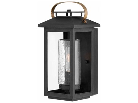 Hinkley Lighting Atwater Black 7'' Wide Outdoor Wall Light HY1160BK
