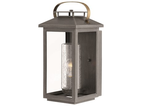 Hinkley Lighting Atwater Ash Bronze 8'' Wide Outdoor Wall Light HY1164AH