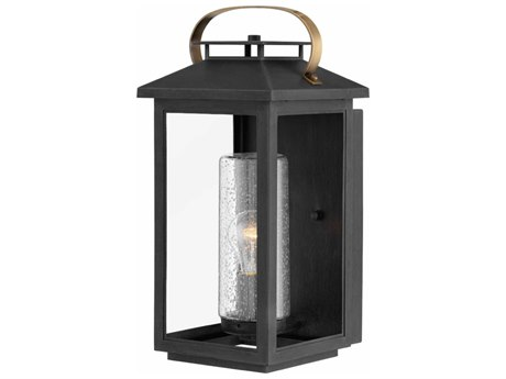 Hinkley Lighting Atwater Black 8'' Wide Outdoor Wall Light HY1164BK