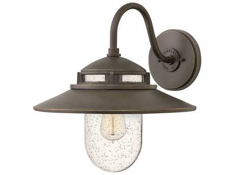 Hinkley Lighting Atwell Oil Rubbed Bronze 14'' Wide Outdoor Wall Light