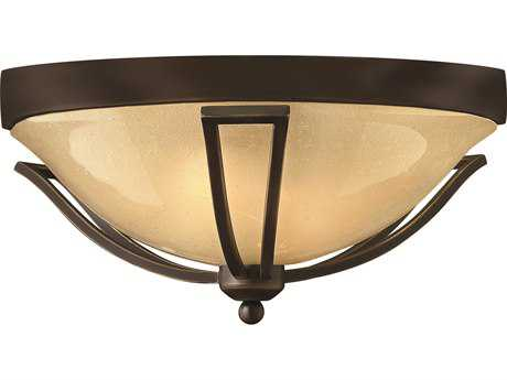 Hinkley Lighting Bolla Olde Bronze Two-Light Incandescent Outdoor Ceiling Light HY2633OB