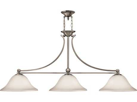 Hinkley Lighting Bolla Brushed Nickel Three-Light Island Light HY4666BN