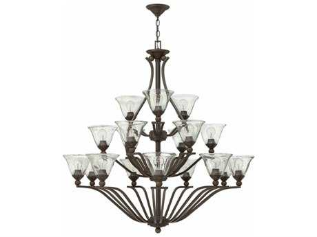Hinkley Lighting Bolla Olde Bronze 18-Light 48'' Wide Grand Chandelier HY4659OBCL