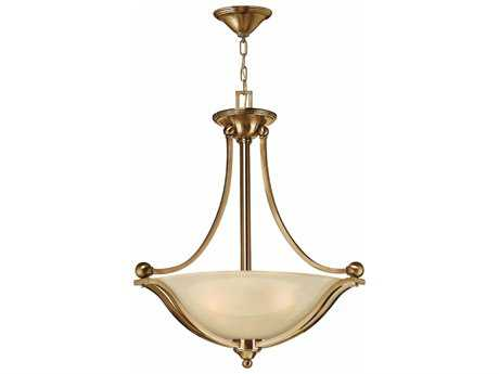 Hinkley Lighting Bolla Brushed Bronze Three-Light 23.25'' Wide Incandescent Pendant Ceiling Light HY4652BR