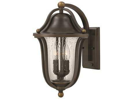 Hinkley Lighting Bolla Olde Bronze Two-Light Outdoor Wall Light
