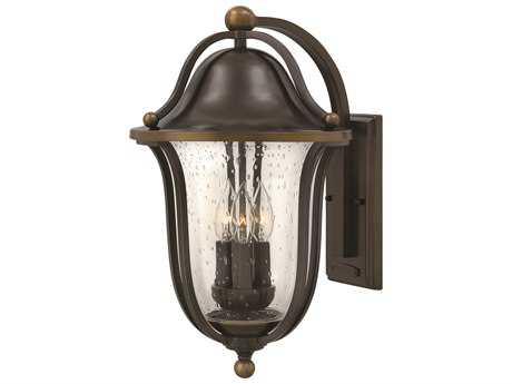 Hinkley Lighting Bolla Olde Bronze Three-Light Outdoor Wall Light