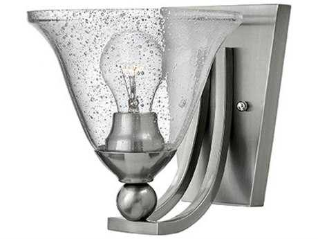 Hinkley Lighting Bolla Brushed Nickel 7.75'' Wide Incandescent Wall Sconce HY4650BNCL