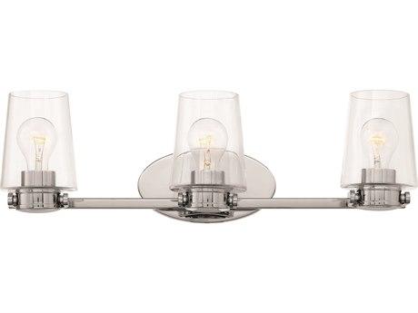 Hinkley Lighting Branson Chrome Three-Light 24'' Wide Vanity Light