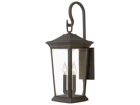 Hinkley Lighting Bromley Oil Rubbed Bronze Three-Light Outdoor Wall Light HY2366OZ