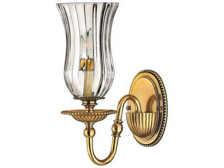 Hinkley Lighting Cambridge Burnished Brass Wall Sconce HY4640BB