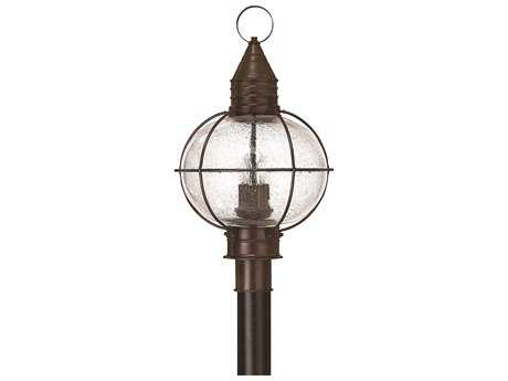 Hinkley Lighting Cape Cod Sienna Bronze Four-Light Incandescent Outdoor Post Light