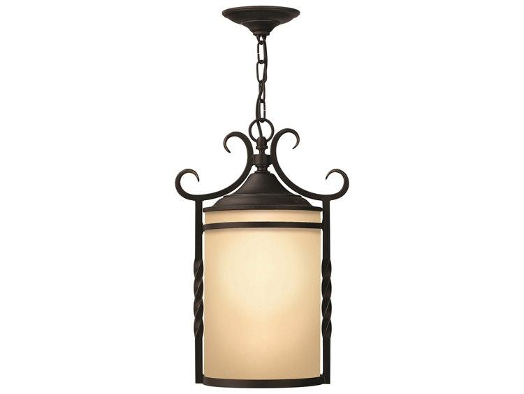 buy online 65f3f 2bf89 Hinkley Lighting Casa Olde Black Incandescent Outdoor Pendant Light