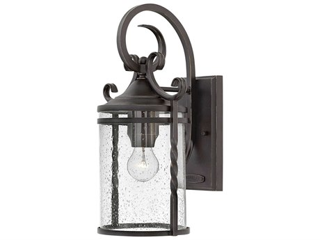 Hinkley Lighting Casa Olde Black 10'' Wide Outdoor Wall Light HY1144OLCL