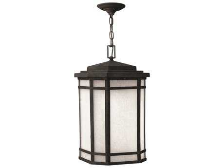 Hinkley Lighting Cherry Creek Vintage Black Incandescent Outdoor Pendant Light
