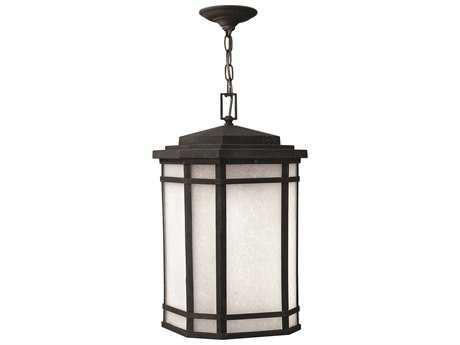 Hinkley Lighting Cherry Creek Vintage Black LED Outdoor Pendant Light