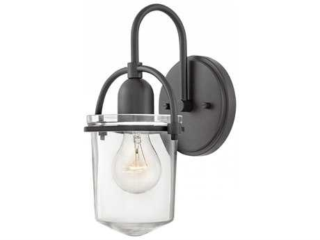 Hinkley Lighting Clancy Buckeye Bronze with Clear Glass Wall Sconce HY3030KZ
