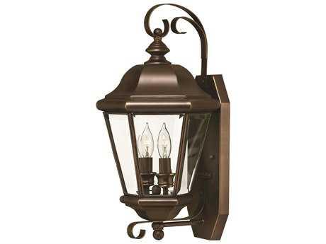 Hinkley Lighting Clifton Park Copper Bronze Two-Light Outdoor Wall Light
