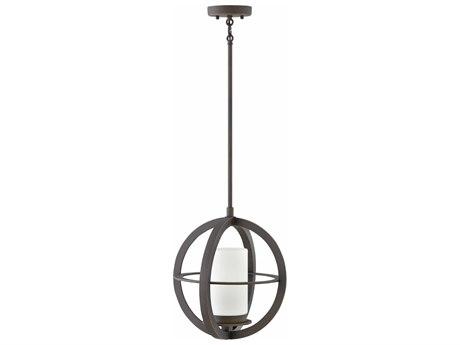 Hinkley Lighting Compass Oil Rubbed Bronze 14'' Wide Outdoor Hanging Light