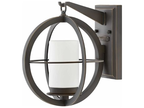 Hinkley Lighting Compass Oil Rubbed Bronze 10'' Wide Outdoor Wall Light