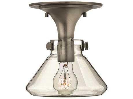 Hinkley Lighting Congress Antique Nickel Semi-Flush Mount Light