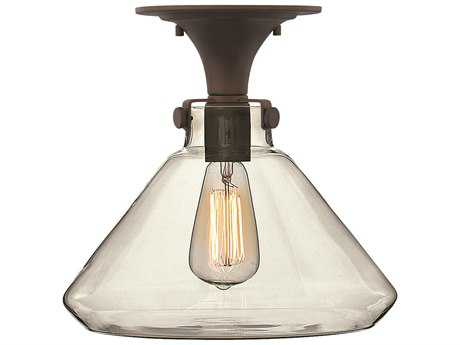 Hinkley Lighting Congress Oil Rubbed Bronze Semi-Flush Mount Light HY3147OZ