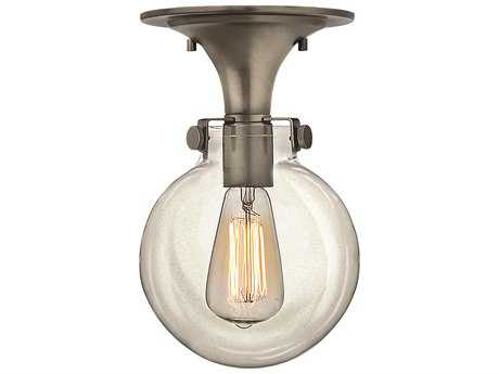 Hinkley Lighting Congress Antique Nickel Semi-Flush Mount Light HY3149AN