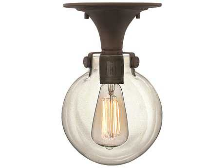 Hinkley Lighting Congress Oil Rubbed Bronze Semi-Flush Mount Light HY3149OZ