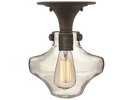 Hinkley Lighting Congress Oil Rubbed Bronze Semi-Flush Mount Light HY3150OZ