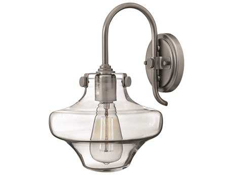 Hinkley Lighting Congress Antique Nickel Wall Sconce HY3171AN