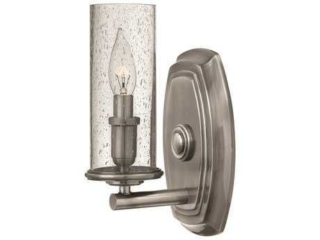 Hinkley Lighting Dakota Polished Antique Nickel Wall Sconce HY4780PL