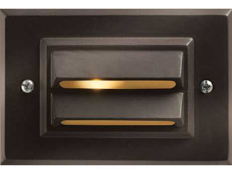 Hinkley Lighting Deck Horizontal Bronze LED Outdoor Wall Light HY1546BZLED