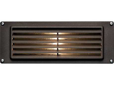 Hinkley Lighting Deck Louvered Bronze LED Outdoor Wall Light